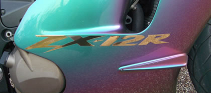 Kawasaki ZX-12R Decal 2003 Model