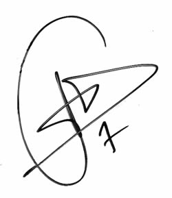 One Carlos Checa Autograph Decal