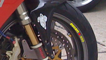 Ducati 999Rim Decal set