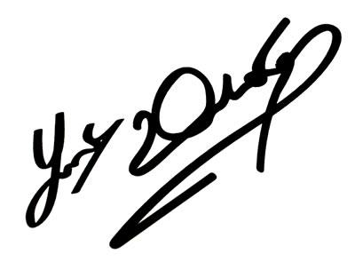 Rapro Graphics Joey Dunlop Signature Decal