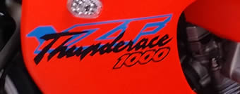 Yamaha Thunderace 1000 2 colour decal